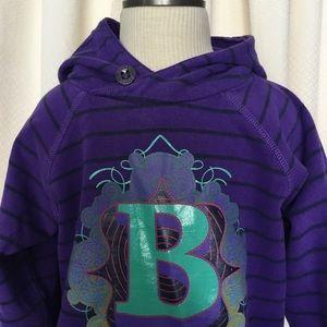 mini Boden boys purple sweater Sz3-4
